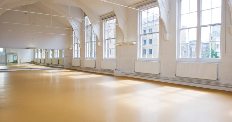 Hire the dance studio meeting space in islington