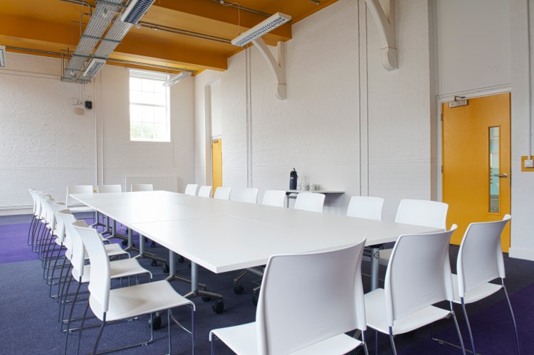 Board Room - all white chairs option